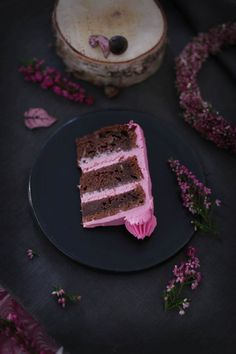 beetroot + chocolate cake with walnuts