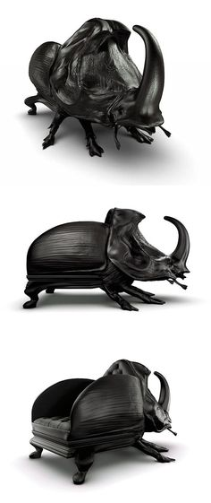 Beetle Chair by Maximo Riera
