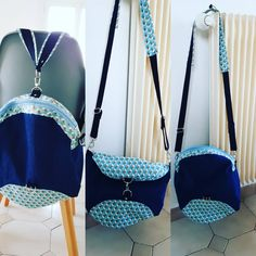 ma_couture_et_nous Et voici le limbo terminé. C'est un sac de Sacôtin qui a la particularité de se transformer en sac à dos ou en besace. En photo, dans ses 3 versions.
