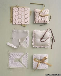 Pretty Pillows - Martha Stewart Weddings Inspiration