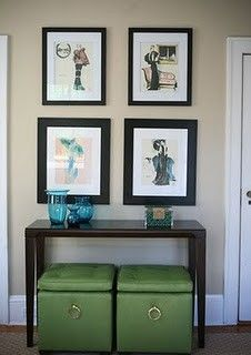 Console table.
