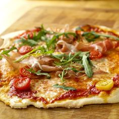Ukemeny for uke 28 Pasta, Recipe Boards, Vegetable Pizza, Risotto, Potato, Mozzarella, Nom Nom, Bacon, Food Porn