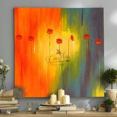 Acrylic Canvas, Canvas Art, Drip Art, Extra Large Wall Art, Folk Art, Abstract Art, Illustration Art, Wall Decor, Painting