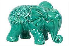 Urban Trends UTC50781 Ceramic Elephant Statue, Turquoise Urban Trends http://www.amazon.com/dp/B00C037GV6/ref=cm_sw_r_pi_dp_HDOVub092V621