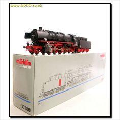MARKLIN 37880 DIGITAL, GERMAN DB 2-10-0 CLASS BR 44 LOCO No.044 534-6 with SMOKE on eBid United Kingdom