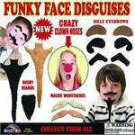 Funky Face Disguises (Series 4) 2 Inch Toy Capsules