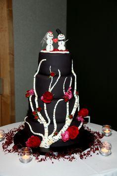 Cute winter cake!