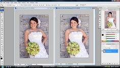 Photography Photoshop Tutorial: Basic Bridal Edit