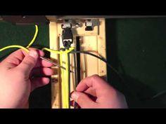 How to Ladder Rack Paracord Weave 550 Paracord Bracelet, Sling, Belt, Etc.. - YouTube
