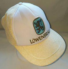 L/öwenbr/äu Logo Mens Women Wool Cool Cap Adjustable Snapback Sun Hat