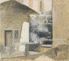 Giorgio Morandi. Cortile di via Fondazza, 1959.