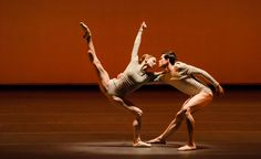 "Maria Kochetkova and Lonnie Weeks of San Francisco Ballet in Wayne McGregor's ""Borderlands"" at Lincoln Center, NYC"