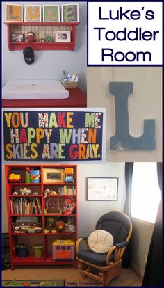 How I decorated and furnished my sons entire room for dirt cheap! Lots of fun DIY personal touches.