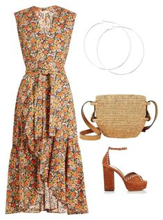 """Untitled #574"" by mchlap on Polyvore featuring Rebecca Taylor, Tabitha Simmons and Khokho"