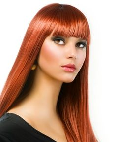 Web Collections - long red straight hair styles