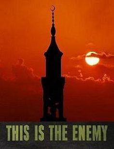 anti-Islam war posters