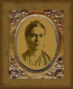Frida Kahlo joven
