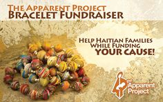 The Apparent Project-jewelry featuring Haitian metal art and recycled cardboard beads, also sell bags, Haitian metal art wallhangings, ornaments, and journals The Apparent Project provides employment for Haitian men and women.