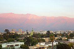 A vista do NH Ciudad de Santiago