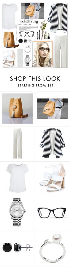 """Ms. Little's Bag"" by anyasdesigns ❤ liked on Polyvore featuring Michael Kors, WithChic, Calvin Klein, Spitfire, BERRICLE, Burberry, Bobbi Brown Cosmetics, women's clothing, women's fashion and women"
