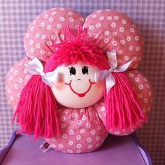 Simple Fabric Crafts You Can Make From Scraps - Diy Crafts Doll Crafts, Yarn Crafts, Fabric Crafts, Sewing Crafts, Diy And Crafts, Doll Clothes Patterns, Doll Patterns, Pillow Crafts, Cute Baby Wallpaper