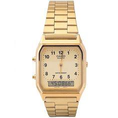 31200364c50 Na Relógios de Fábrica você encontra o Relógio Casio Unissex Vintage  AQ-230GA-9BMQ