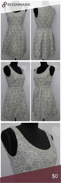 Zara A Line Pleated Dress Excellent condition of Zara dress with no significant flaws.   Material:  Outer - 52% cotton, poly and linen. Lining: polyester  Measurements are taken flat, might be off couple inches.  Length: 32 Armpit across: 16 Waist: 13  Style # RN 77302 Zara Dresses Mini