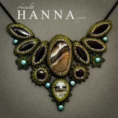 Nicole Hanna Jewelry | Forest Shadows Pendant | Online Store Powered by Storenvy