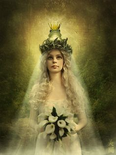 Frog Princessby ~pure-lily  Digital Art / Photomanipulation / Fantasy	©2010-2012 ~pure-lily