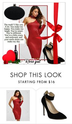 """Romantic dinner"" by mujkic-merima ❤ liked on Polyvore featuring reddress and rosegal"