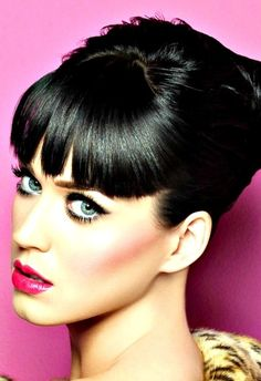 Katy Perry - love love love her :) I feel like she's my twin! If only I could get away dressing up in sequins and glitter at work ;)