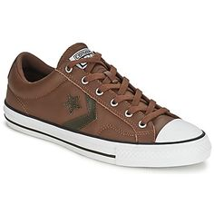 New Arrivals: From the new collection by Converse, these brown All Stars are perfect for Fall! #shoes #trainers #sneakers #converse #backtoschool #fashion