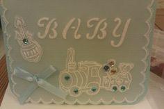 Parchment Card Baby Boy