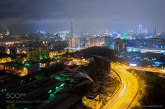 City from building by dread003111 #nature #photooftheday #amazing #picoftheday #sea #underwater