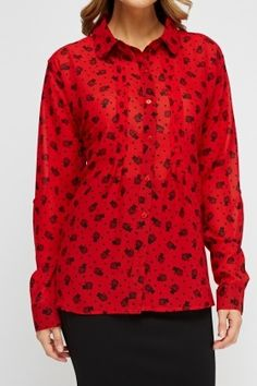 Cat Print Blouse, Everything£5 Sheer Blouse, Printed Blouse, Cats, Long Sleeve, Clothing, Sleeves, Model, Prints, How To Wear