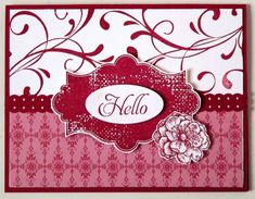 Cherry Cobbler Eleanor by LAM Creations - Cards