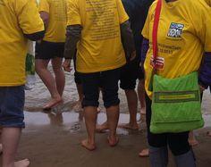 Es ist die Wahrheit - meine Patinnen sind verrückt... sie waren gestern am 2.11. mit nackten Füßen in der Ostsee... :-) auf der Insel #Usedom