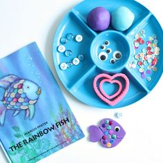 the rainbow fish craft and bulletin board that promotes sharing and getting along with others educational activities ideas pinterest rainbow fish - Colorful Fish Book