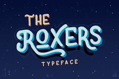 @newkoko2020 The Roxers Typeface by Fusion Labs on @creativemarket#font #buy #discount #design #lettering