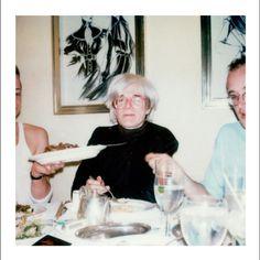 Andy Warhol & Keith Haring by Maripol
