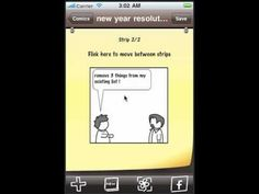Create A Comic App free for Android/iPhone (Also available for iDevices)