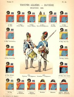 Troupes Baviere 1806