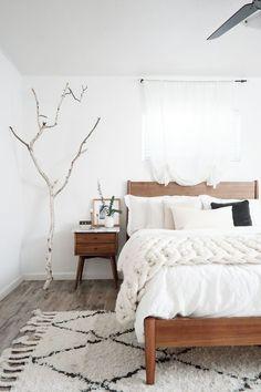 222 best simple bedroom decor images in 2019 bedrooms, summerwhite minimal cozy bedroom with beni ourain rug north country nest · simple bedroom decor