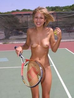 Nude tennis women