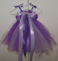 THINK MAKE LIVE LOVE: TUTU DRESS TUTORIAL - NO SEWING REQUIRED!