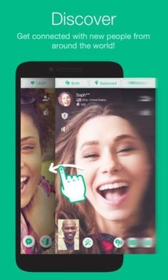 Find new friends for random video chat. Talk to strangers on Omegle. Omegle Video Chat, Ios, Online C, Talk To Strangers, Finding New Friends, Free Chat, New People, Ipod Touch, Google Play