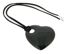 Earth Black Agate Heart Pendant on Black Faux Suede Necklace 46cm - from the Earth Collection Earth, http://www.amazon.co.uk/dp/B0095D4QCG/ref=cm_sw_r_pi_dp_KBXOtb11YWFKT