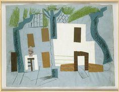 Picasso Paysage de Céret 1910