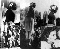Execution of Elisabeth Becker.