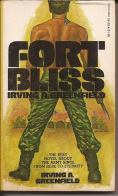 Manor Books Irving A. Greenfield Fort Bliss by PurkeysPaperbacks, $2.00